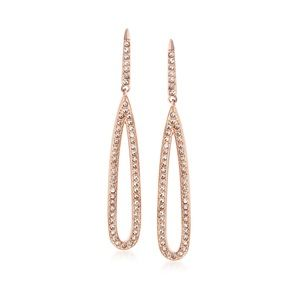 Swarovski Rose Gold Creativity Earrings